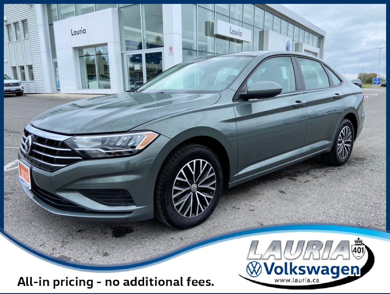 used 2019 Volkswagen Jetta car, priced at $21,988