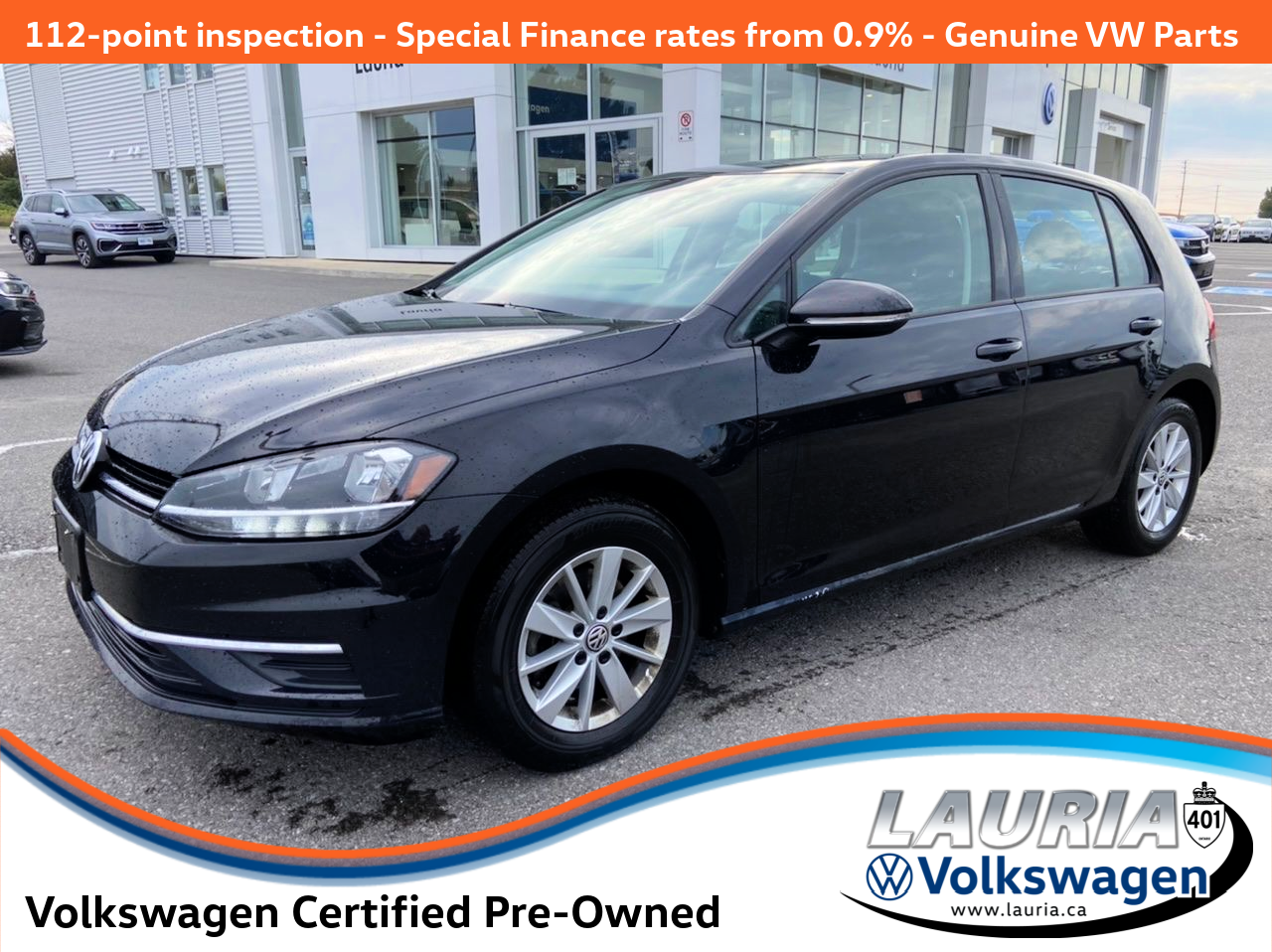used 2019 Volkswagen Golf car, priced at $22,477
