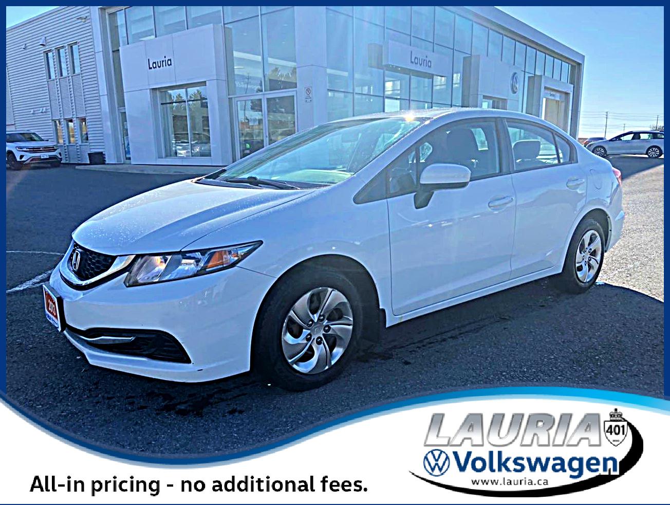 used 2013 Honda Civic Sdn car, priced at $8,788
