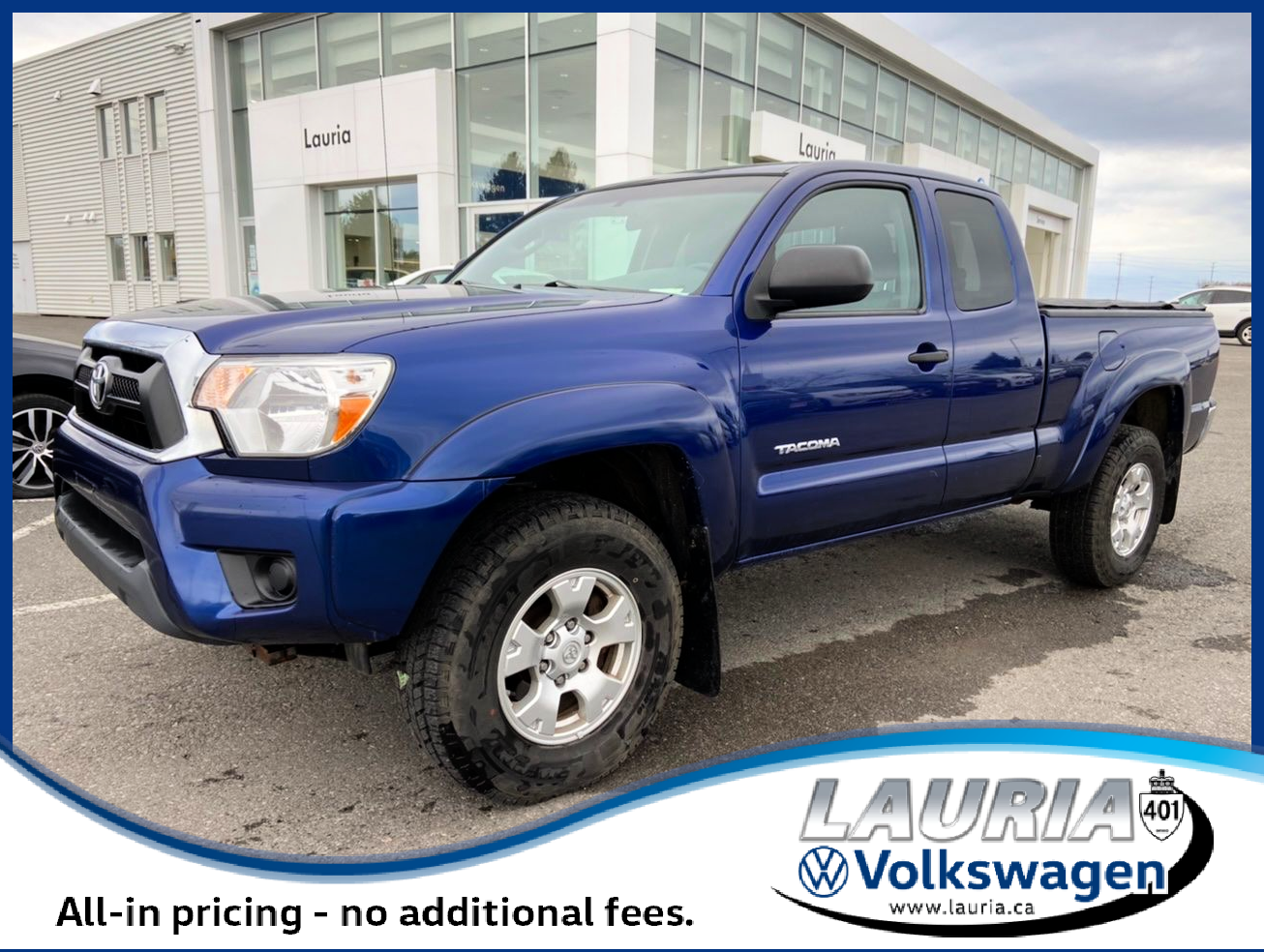 used 2015 Toyota Tacoma car, priced at $25,975