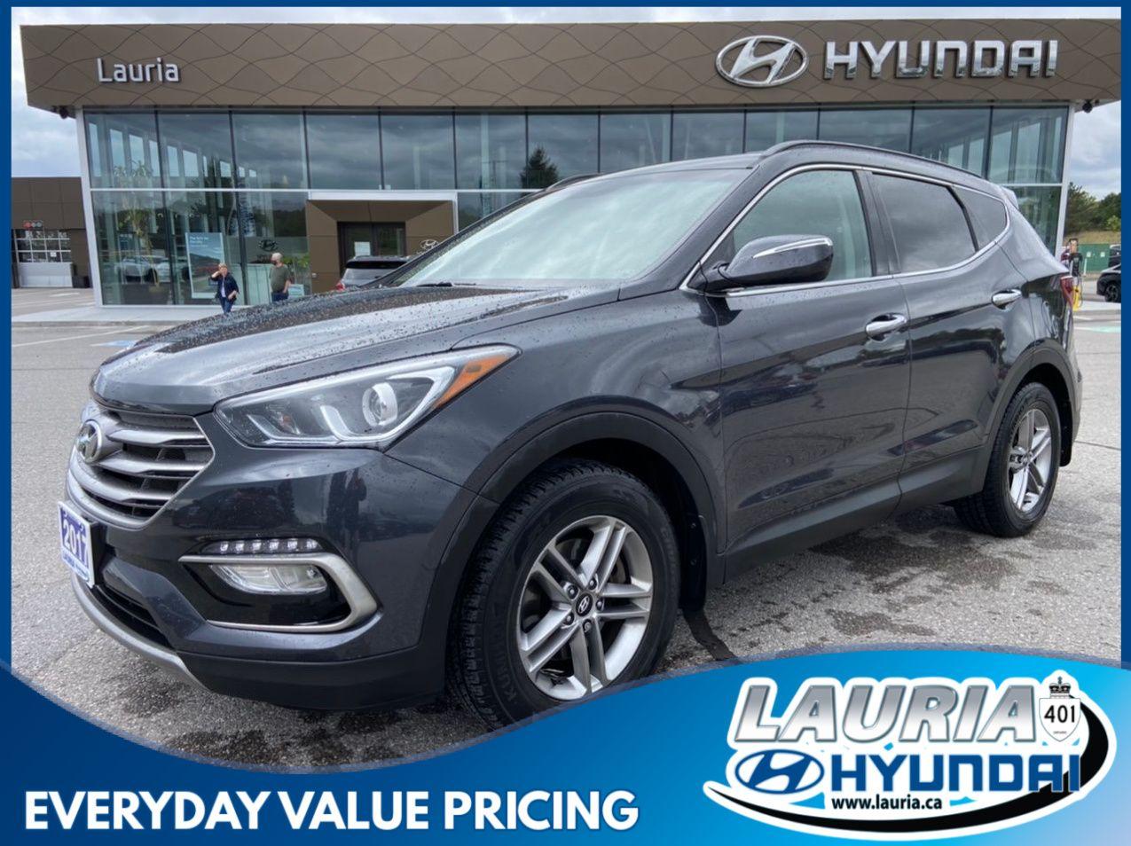 used 2017 Hyundai Santa Fe Sport car, priced at $20,988