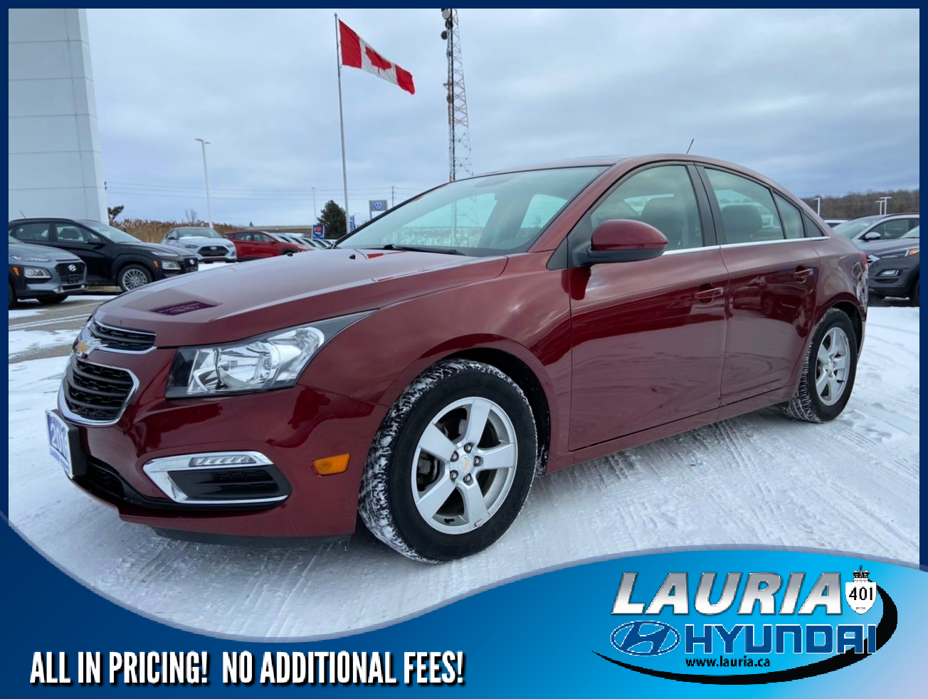 used 2016 Chevrolet Cruze Limited car, priced at $11,775