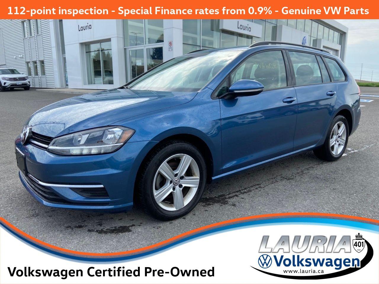 used 2019 Volkswagen Golf SportWagen car, priced at $21,488