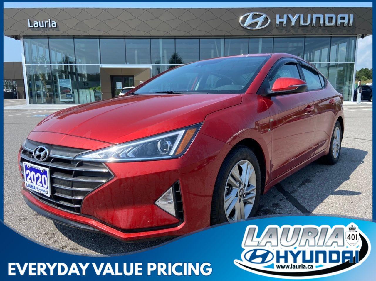 used 2020 Hyundai Elantra car, priced at $19,788
