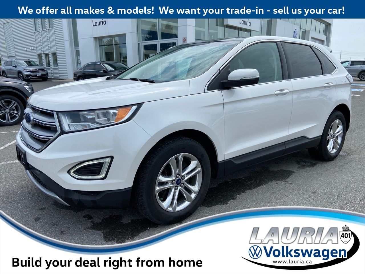 used 2015 Ford Edge car, priced at $17,777