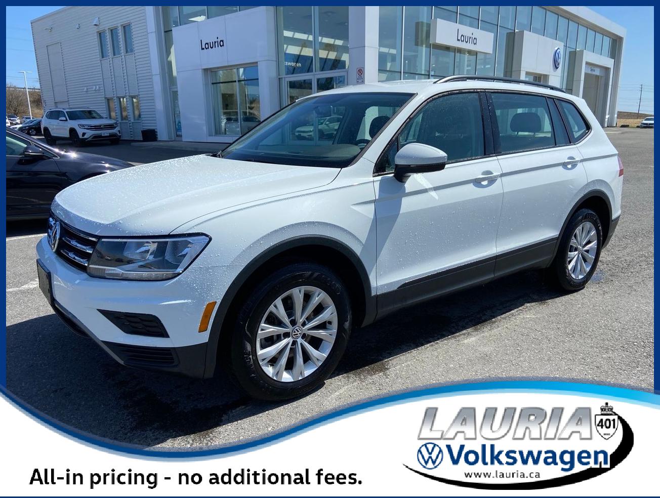 used 2020 Volkswagen Tiguan car, priced at $28,388