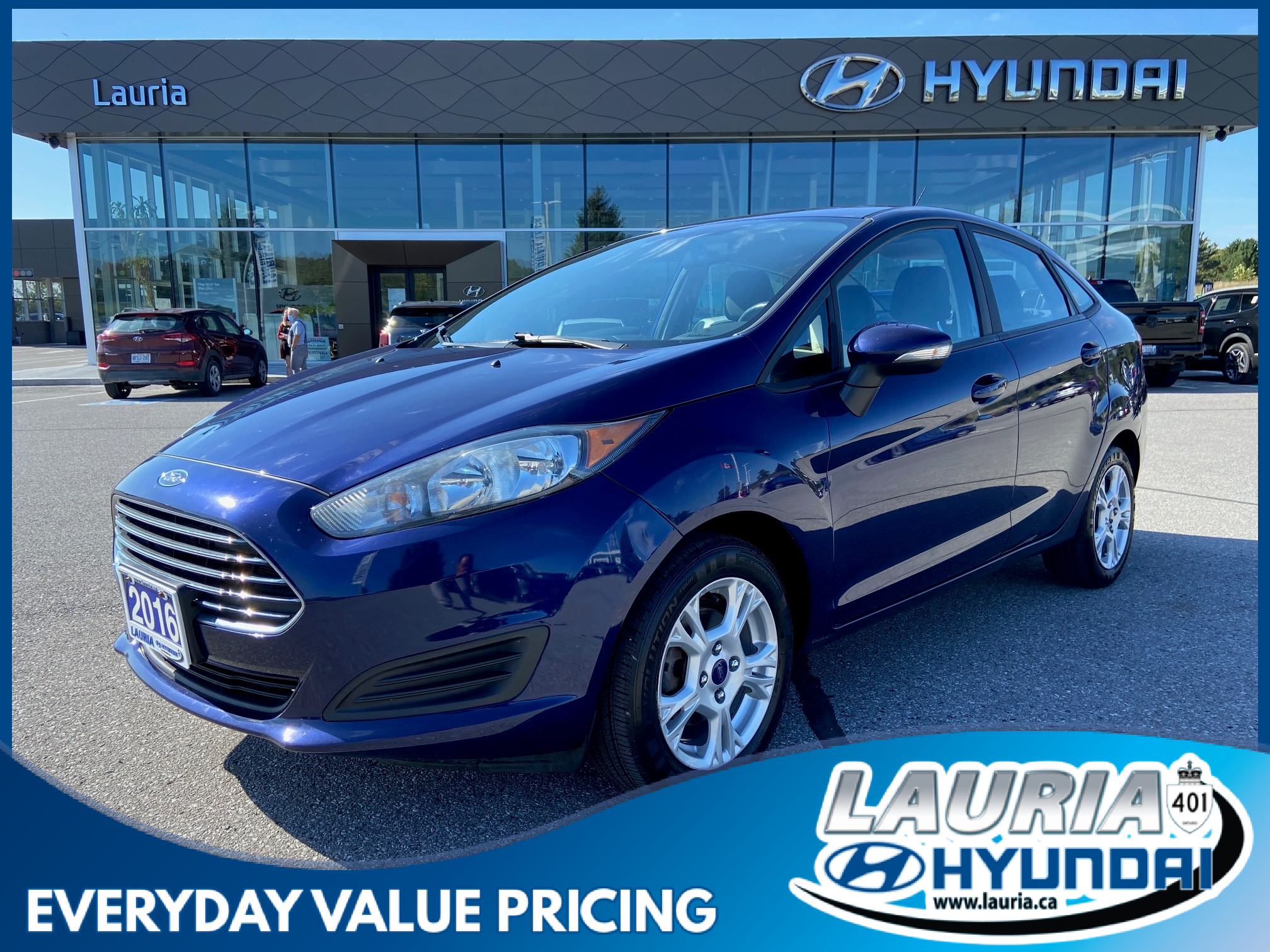 used 2016 Ford Fiesta car, priced at $8,488