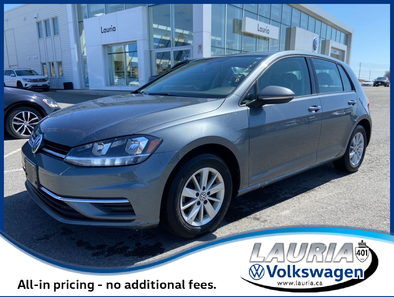 used 2019 Volkswagen Golf car, priced at $19,488