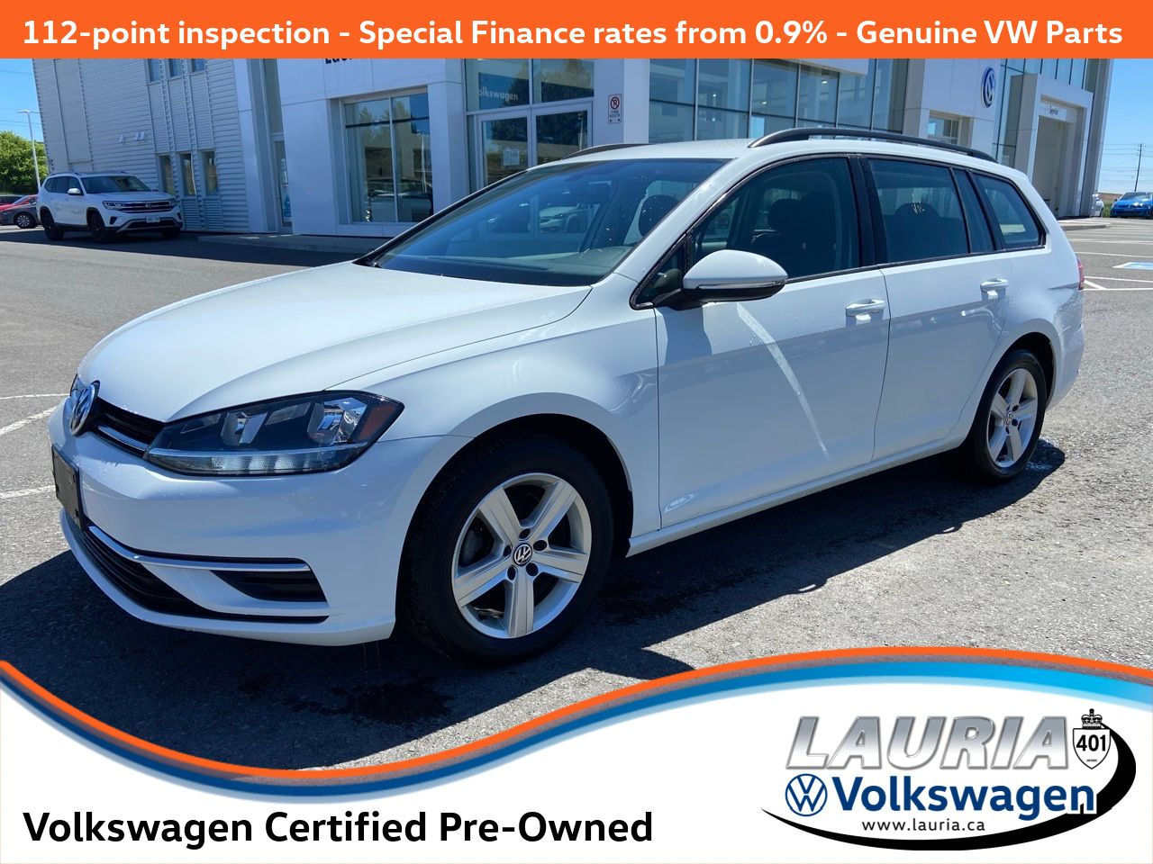 used 2019 Volkswagen Golf SportWagen car, priced at $21,288