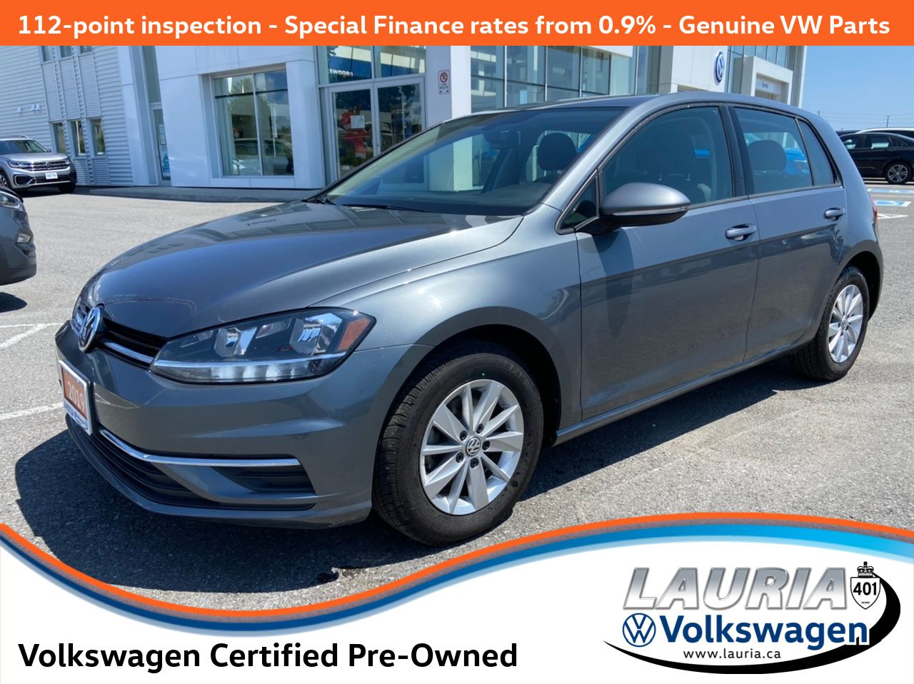 used 2019 Volkswagen Golf car, priced at $18,988
