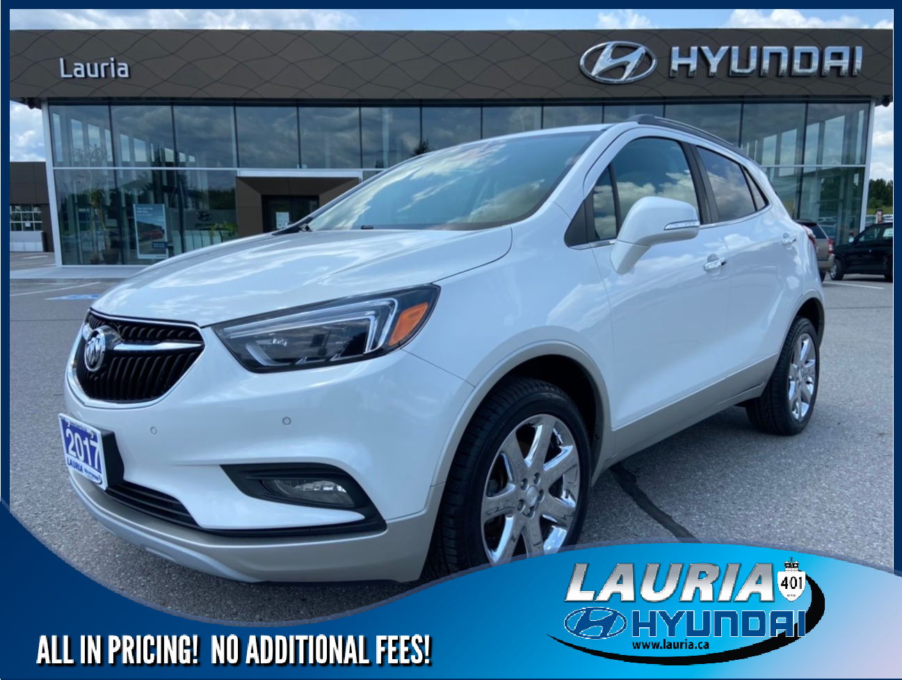 used 2017 Buick Encore car, priced at $19,288