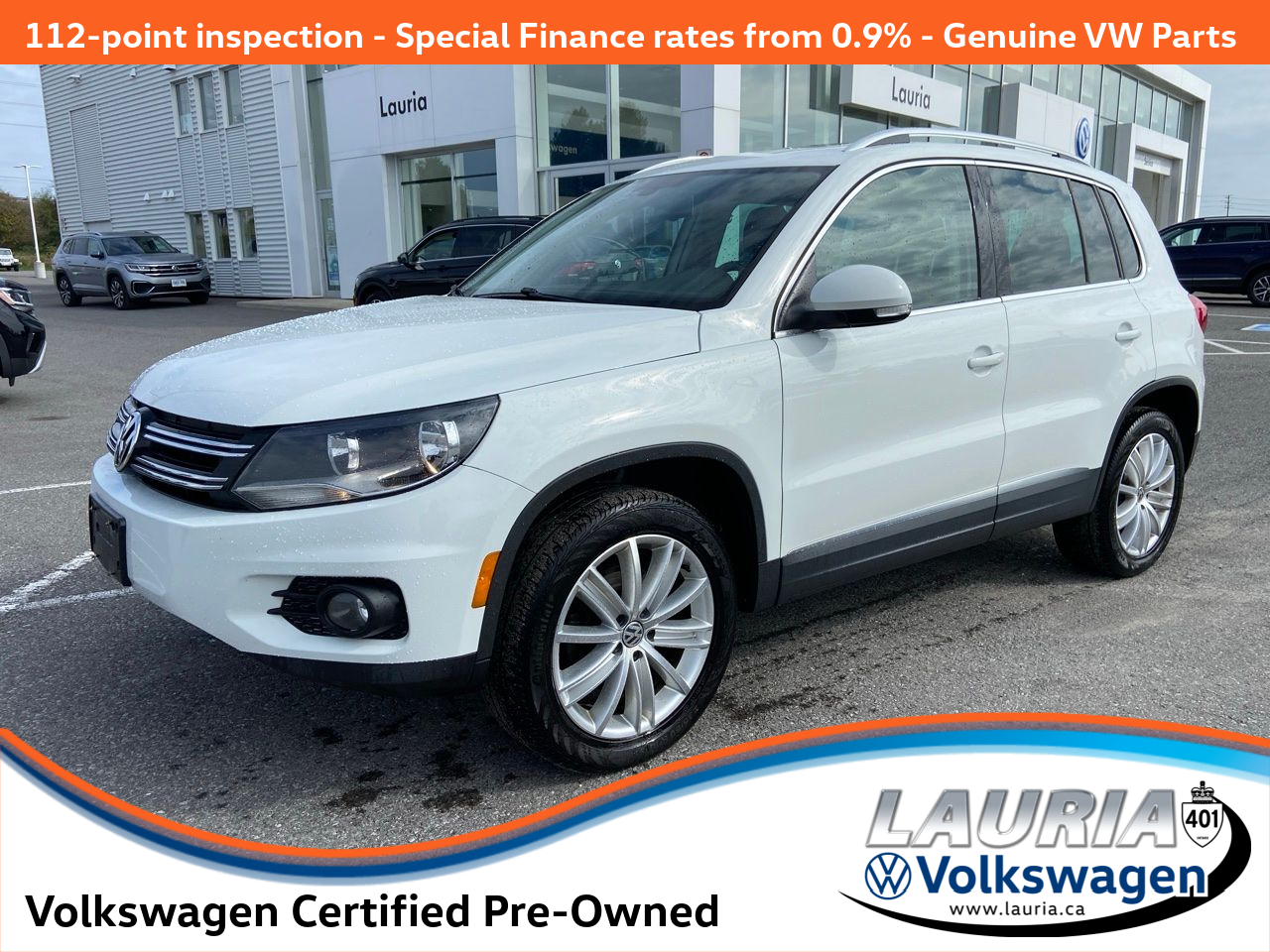 used 2017 Volkswagen Tiguan car, priced at $22,988