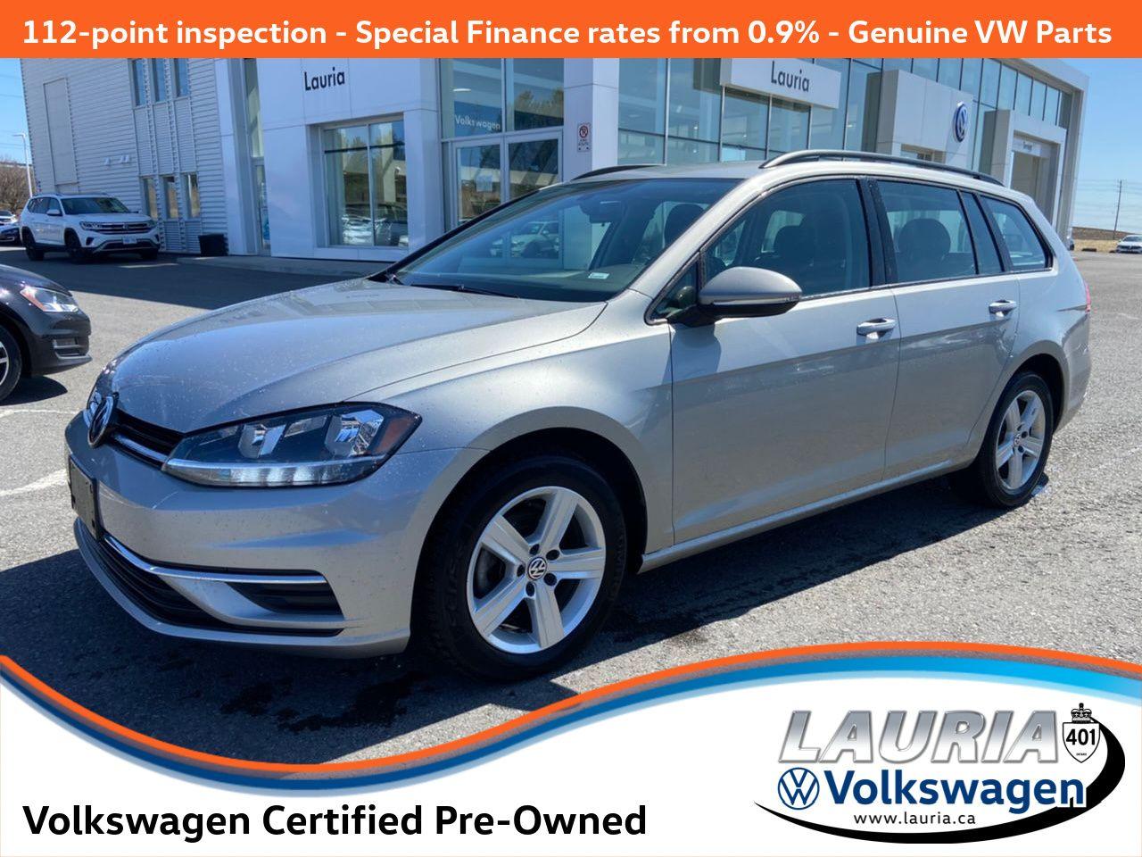 used 2019 Volkswagen Golf SportWagen car, priced at $21,788