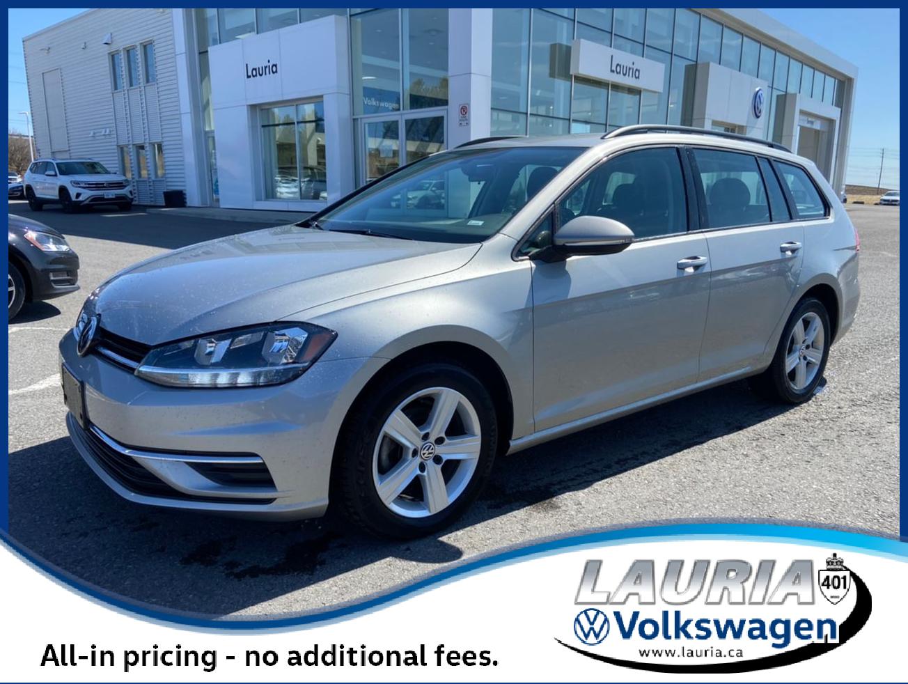 used 2019 Volkswagen Golf SportWagen car, priced at $21,888