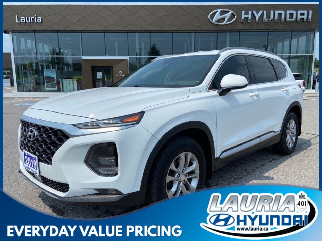 used 2019 Hyundai Santa Fe car, priced at $21,988