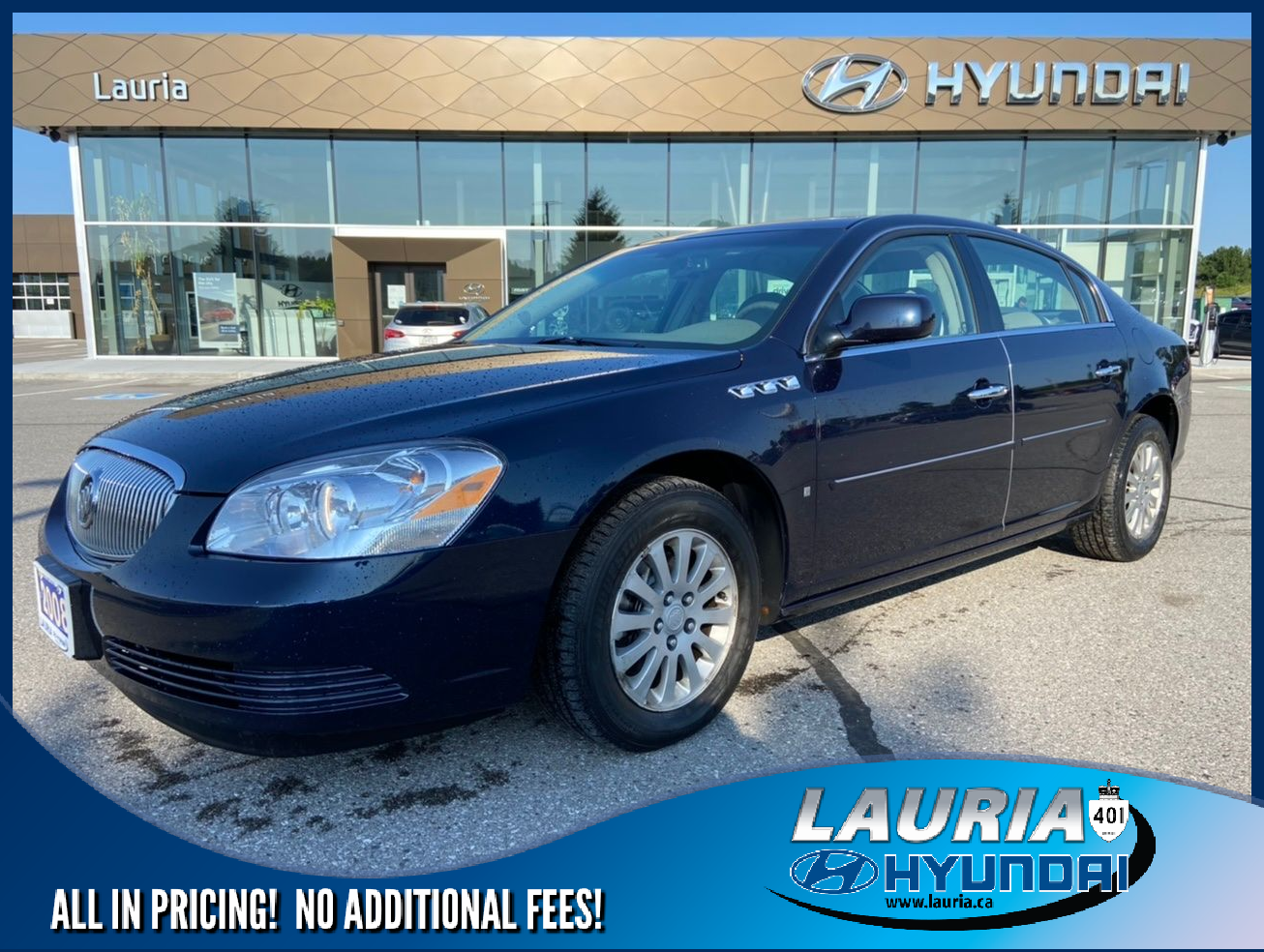 used 2008 Buick Lucerne car, priced at $8,888