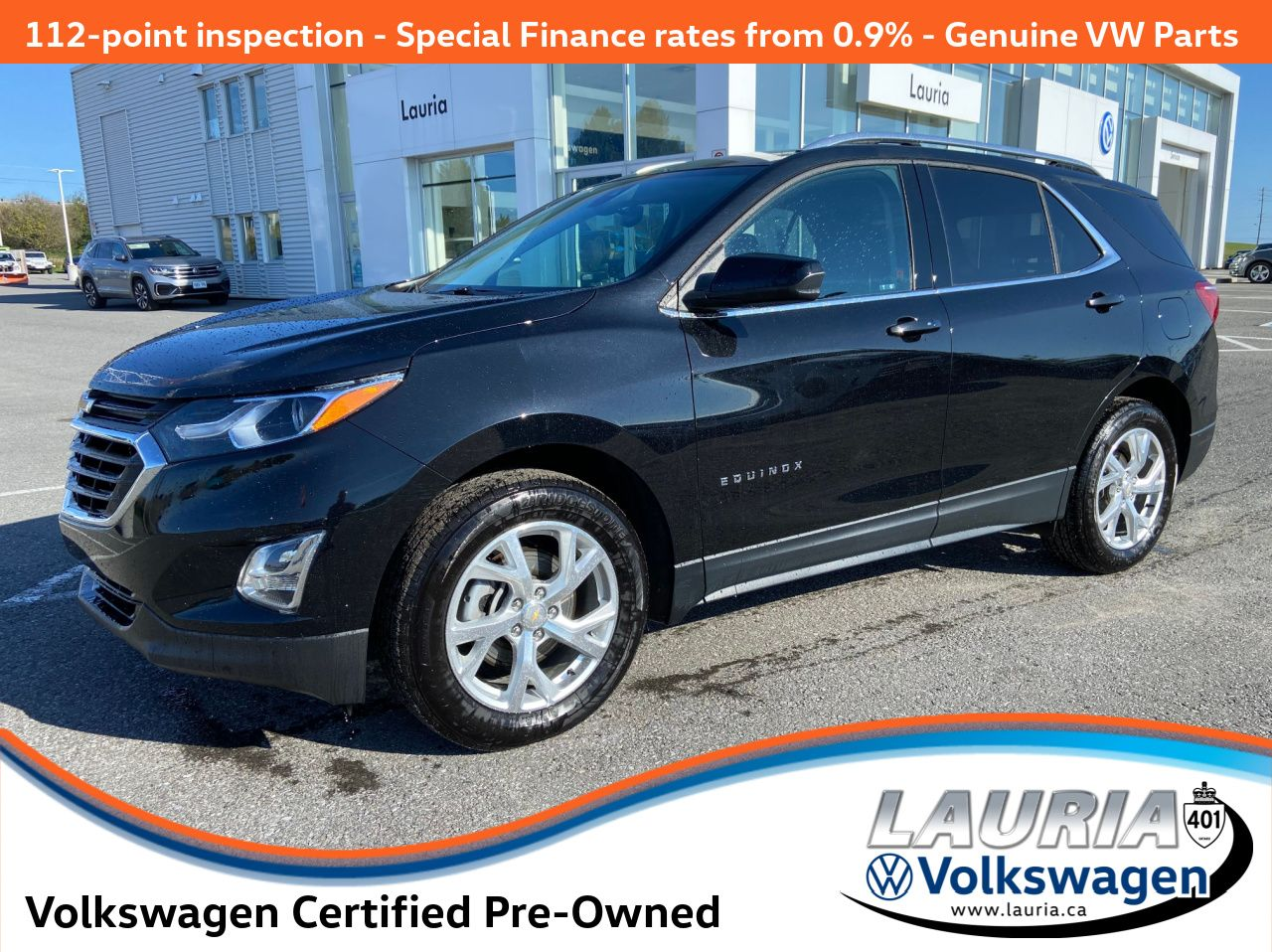 used 2020 Chevrolet Equinox car, priced at $33,988
