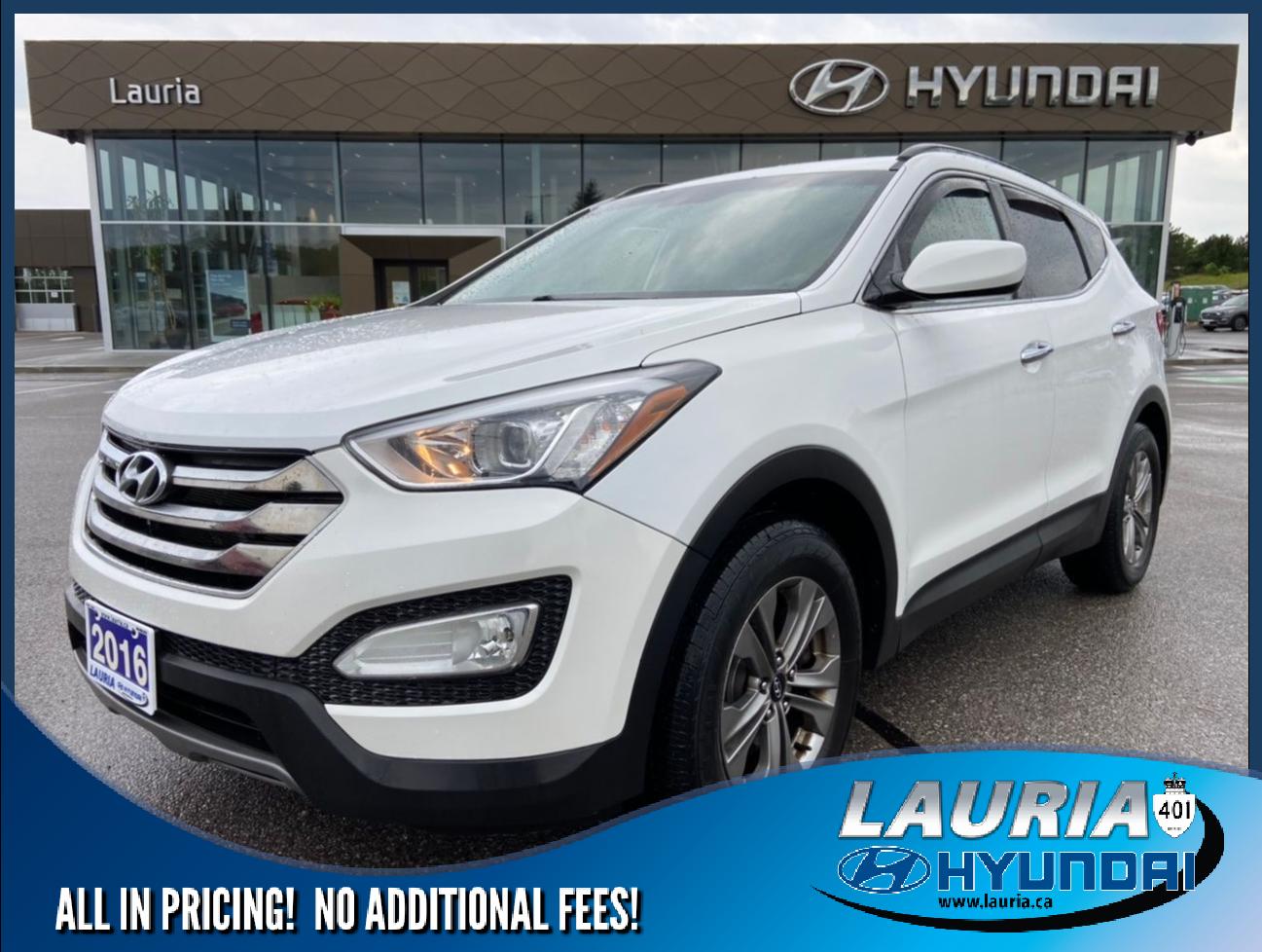 used 2016 Hyundai Santa Fe Sport car, priced at $13,685