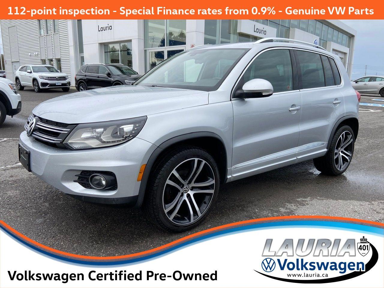 used 2017 Volkswagen Tiguan car, priced at $24,888